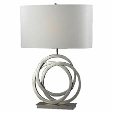 """Trinity 25"""" H Table Lamp with Drum Shade"""