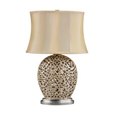 """Serene 30"""" H Table Lamp with Oval Shade"""