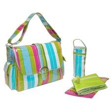 Laminated Buckle Diaper Bag