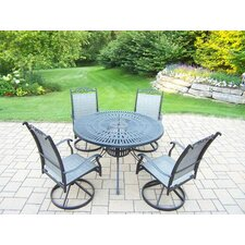Cascade 5 Piece Dining Set
