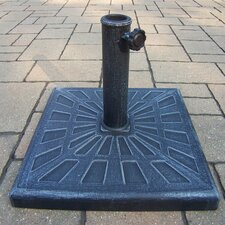 Cast Rust-Free Polyresin Odyssey Square Umbrella Stand