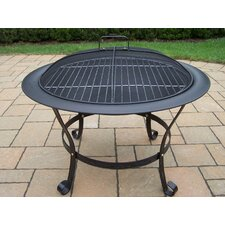 Stainless Steel Wood Fire Pit