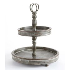 Market Finds 2 Tier Tray with Handle