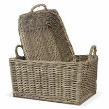 Normandy 2 Piece Laundry Basket Set