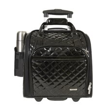 """14"""" Rolling Underseat Quilted PVC Carry On"""
