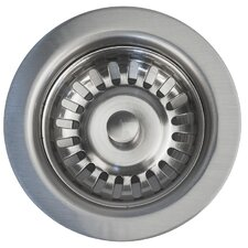 "3.5"" Kitchen Prep Bar Basket Strainer Drain Flange"