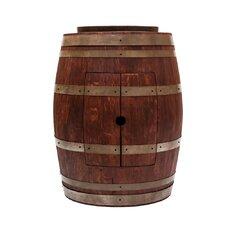 "28"" Single Wine Barrel Bathroom Vanity Set"