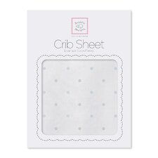 Sterling Little Dots Cotton Fitted Crib Sheet