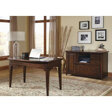 Leyton 2-Piece Office Desk Suite