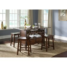 Cabin Fever 5 Piece Dining Set