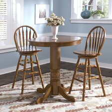 Nostalgia Casual Dining Pub Table with Optional Stools