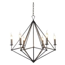 Muir 6 Light Candle Chandelier
