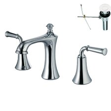 Double Handle Widespread Bathroom Faucet