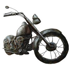 Motorcycle Relief Original Painting