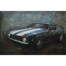 Retro Roadster Painting
