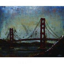 California Dreaming Painting Print on Metal
