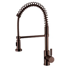 One Handle Spring Pull-Out Kitchen Faucet