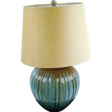 "1 Light Portable 23"" H Table Lamp with Empire Shade"