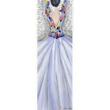 Revealed Art Garden Ballet I Original Painting on Wrapped Canvas