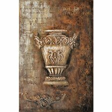 Revealed Art Samovar II Original Painting on Wrapped Canvas