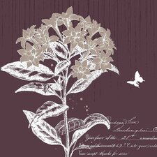 New Revealed Art Labrador Tea Bloom I Graphic Art on Wrapped Canvas