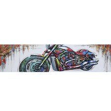 New Revealed Art Highway to Freedom I Original Painting on Wrapped Canvas