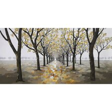 Revealed Artwork Pathway Original Painting on Wrapped Canvas