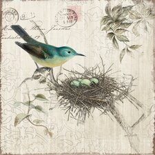 Revealed Artwork Nesting I Graphic Art on Wrapped Canvas