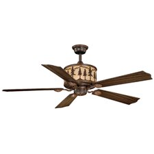 "56"" Yosemite 5 Blade Ceiling Fan with Remote"