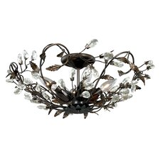 Jardin 4 Light Semi Flush Mount
