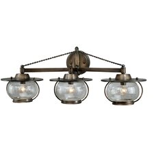 Jamestown 3 Light Vanity Light