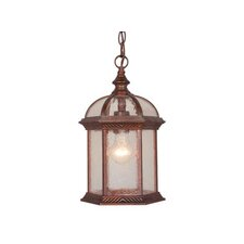 Chateau 1 Light Outdoor Hanging Pendant