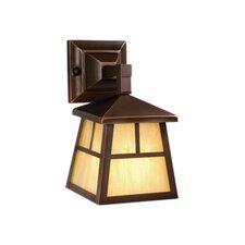 Mission 1 Light Wall Lantern