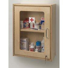 """17"""" x 24"""" Recessed Lockable Medicine Cabinet"""