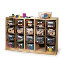 Single 20 Compartment Cubby