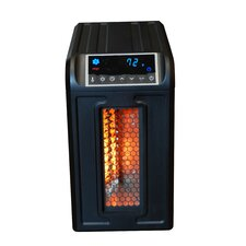 Life Pro Series 1,500 Watt Portable Electric Infrared Cabinet Heater