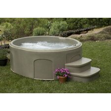 4 Person 13 Jet Rock Solid Luna Plug and Play Spa