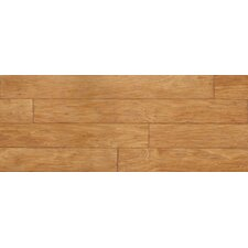 """Sculptique 6"""" x 54"""" x 8mm Hickory Laminate in Sandy Blonde Hickory"""