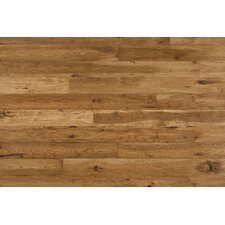 """Maison 7"""" Solid Hickory Hardwood Flooring in Champagne"""
