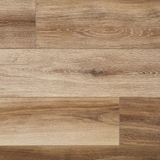 "Restoration™ Wide Plank 8"" x 51"" x 12mm Laminate in Brushed Natural"