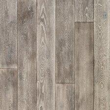 "Antigua 7"" White Oak Hardwood Flooring in Silver"
