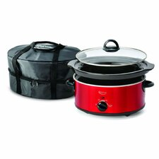 5-Quart Slow Cooker with Travel Bag