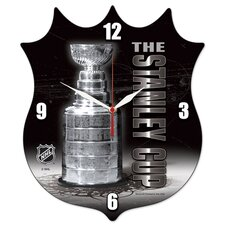NHL High Definition Plaque Wall Clock