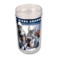 NFL San Diego Charger Glass (Set of 4)