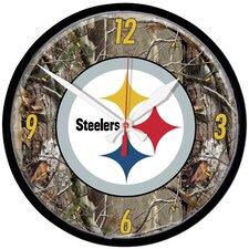 "NFL 12.75"" Camoflage Wall Clock"