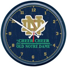 "Notre Dame 12.75"" Wall Clock"