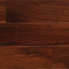 Gevaldo Random Width Engineered American Walnut Hardwood Flooring in Natural