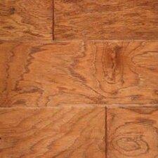 Gevaldo Random Width Engineered Hickory Hardwood Flooring in Cider