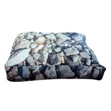 Rectangle Hard Rocks Dog Pillow