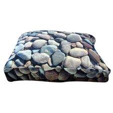 Rectangle River Rock Dog Pillow